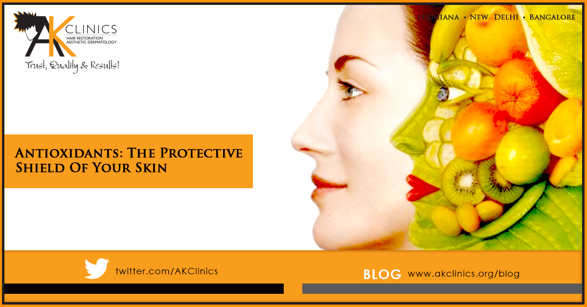 Antioxidants:  The Protective Shield Of  Your Skin