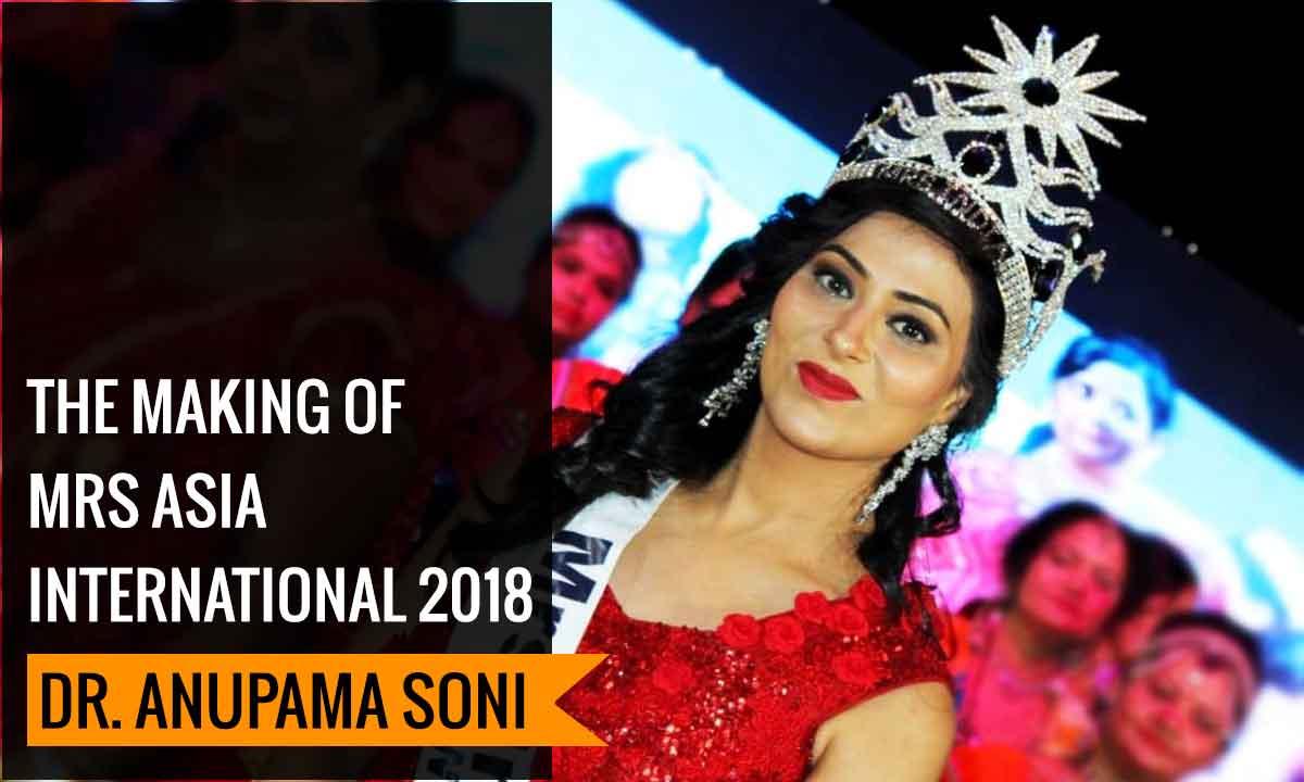 The making of Mrs Asia International 2018