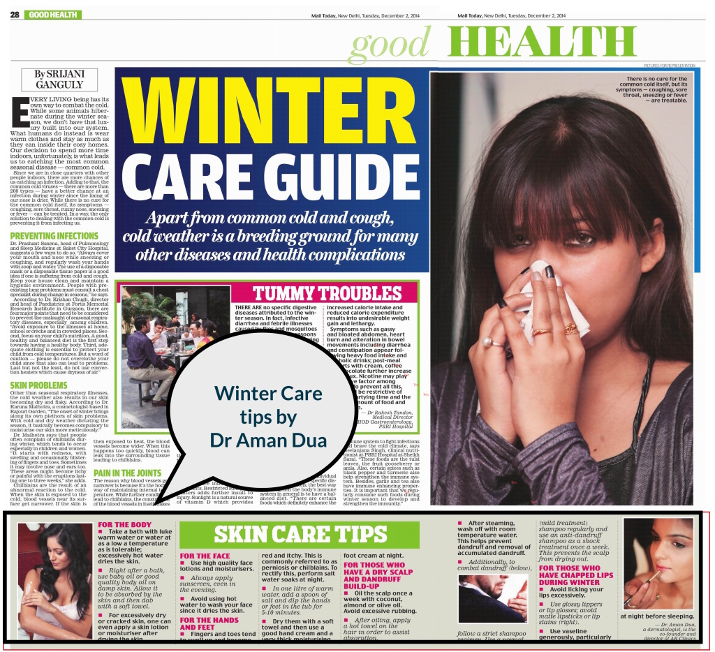 Winter tips by Aman Dua