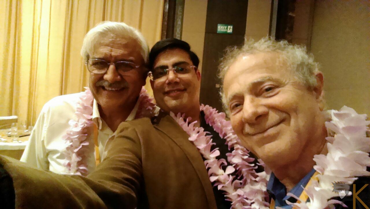 Dr Kapil, Dr Sanjiv Vasa, India and Dr Marazola from Australia