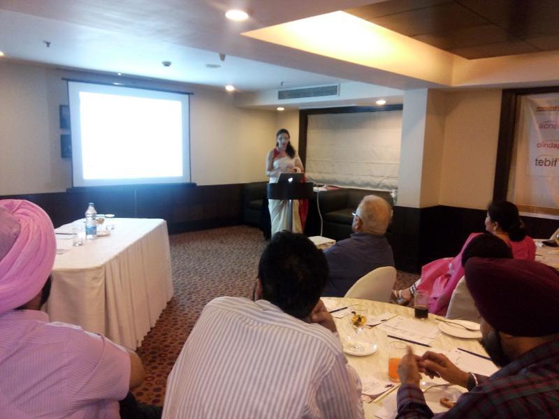 Dr Aman Dua Attending seminar
