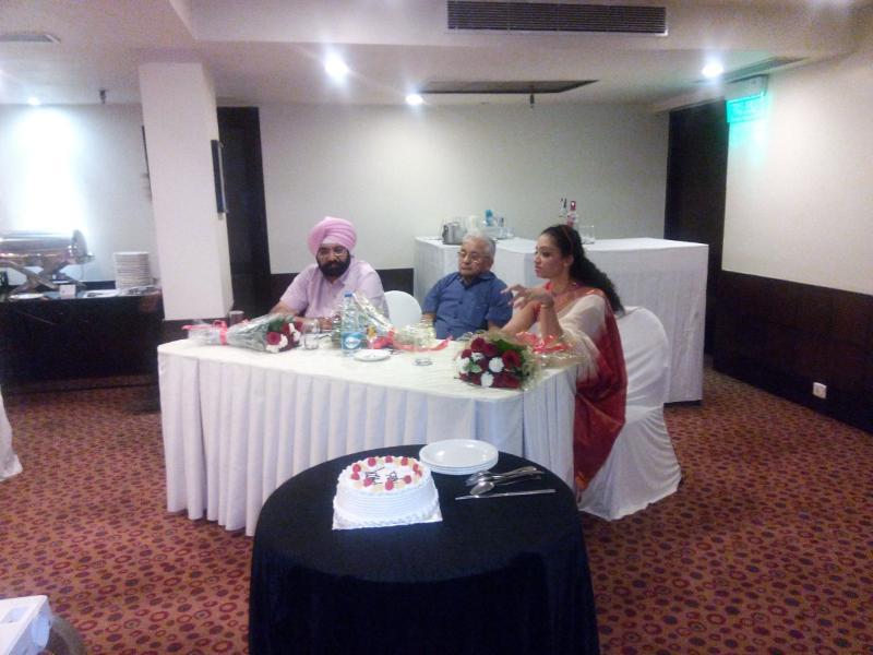 Dr Aman Dua Attending seminar in ludhiana