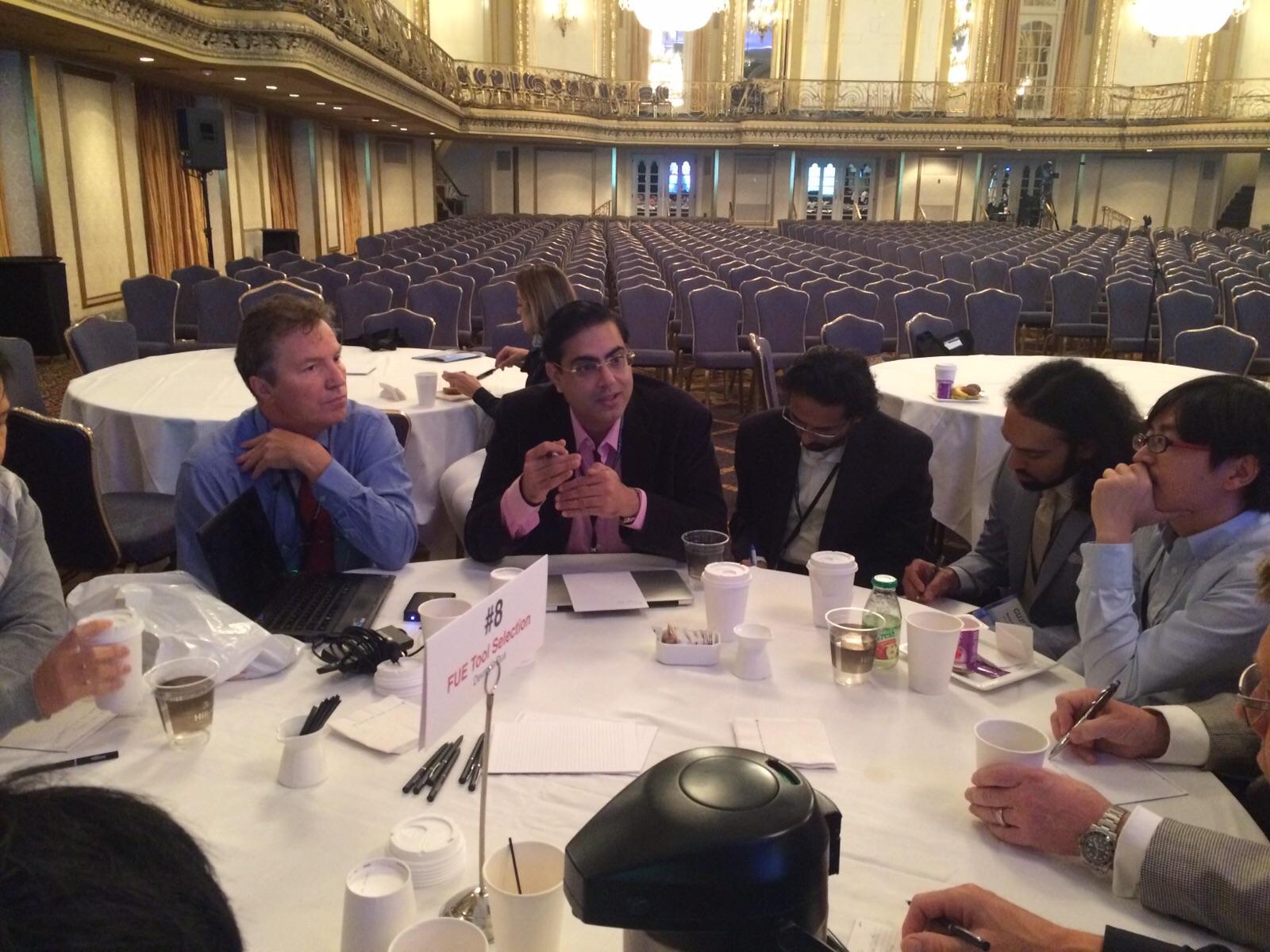 Dr kapil Dua attending conference at chicago