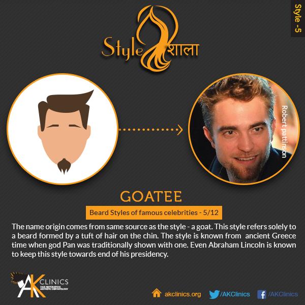Robert Pattinson ( Goatee)