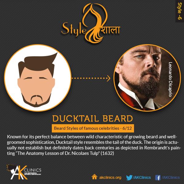 Leonardo DiCaprio (Ducktail)
