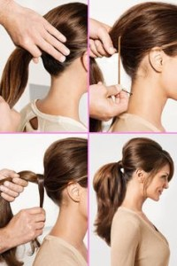 how to tie the poof hairstyle
