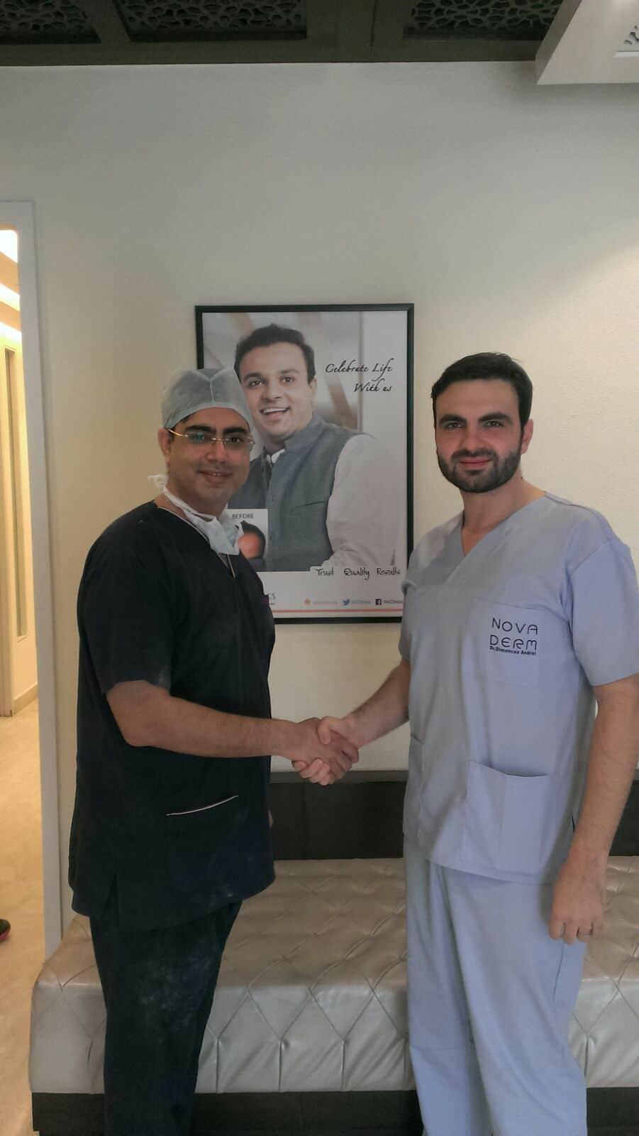 Mou Ak clinics with novaderm