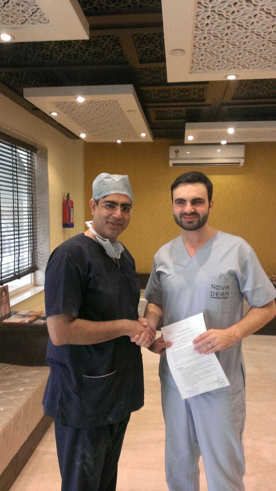 Dr. Dimancea and Dr Kapil