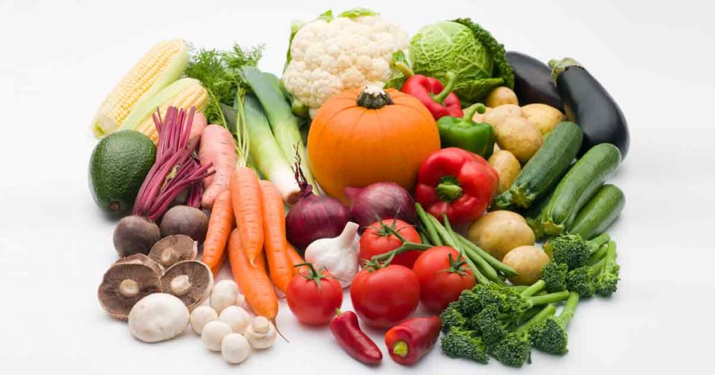 vegetables for skin care
