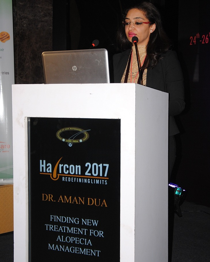 Dr Aman Dua Session on New Treatment for Alopecia Management.