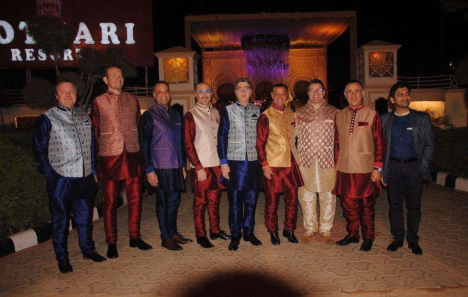 Gala Dinner at Kothari Resort - Haircon 2017