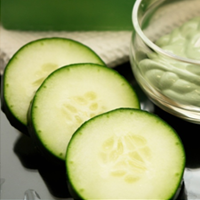 Cucumber & yogurt
